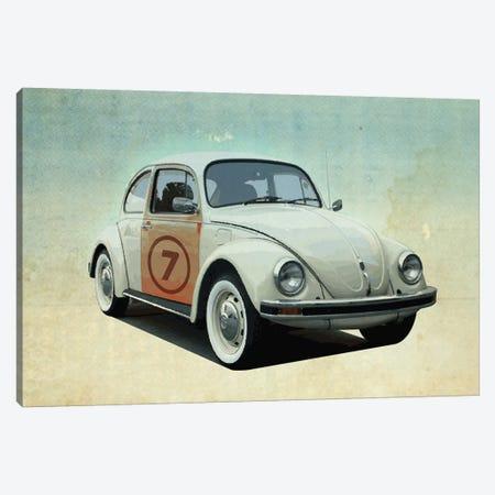 Number 7 VW Sedan Canvas Print #ZEP43} by Vin Zzep Canvas Art