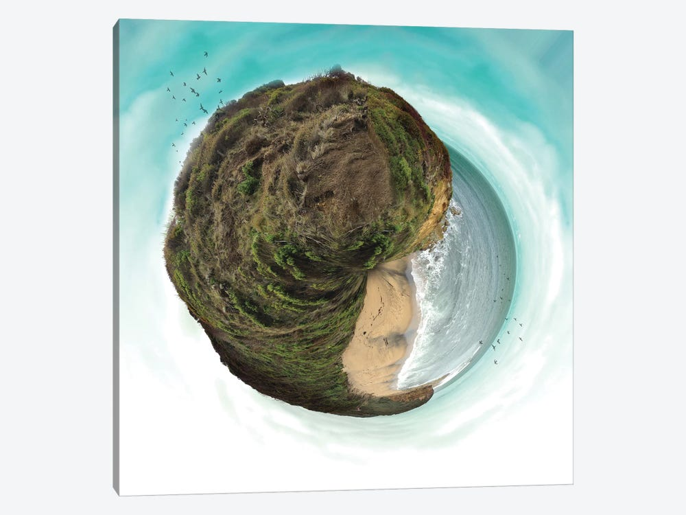Bells Beach Small World by Vin Zzep 1-piece Canvas Art
