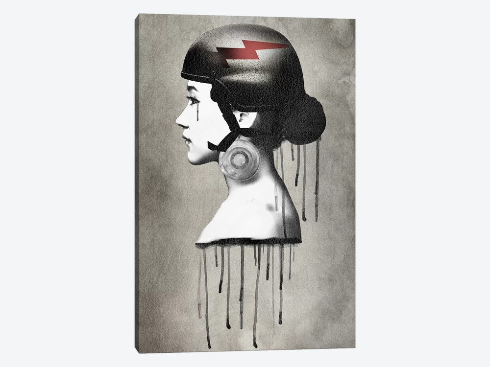 Army Queen Bolt by Vin Zzep 1-piece Canvas Art Print