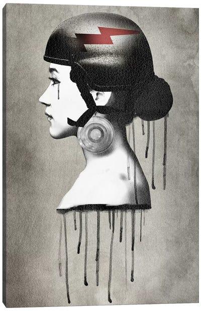 Army Queen Bolt Canvas Art Print