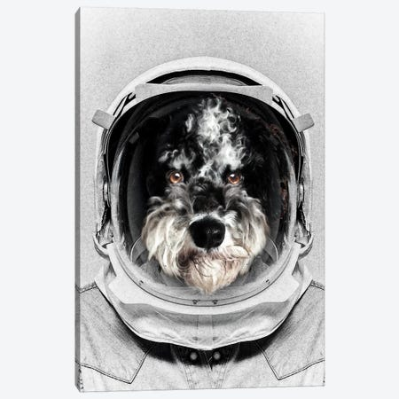 Buster Astro Dog Canvas Print #ZEP61} by Vin Zzep Canvas Artwork