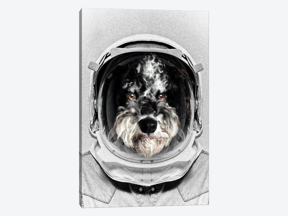 Buster Astro Dog by Vin Zzep 1-piece Canvas Artwork