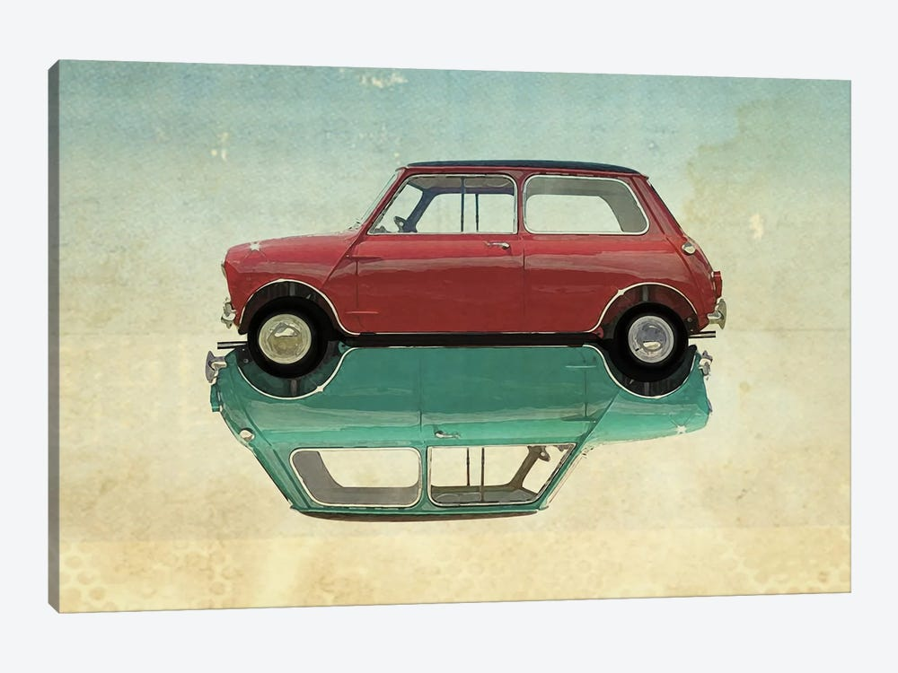 Car Mini by Vin Zzep 1-piece Canvas Artwork
