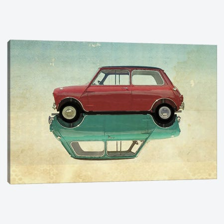 Car Mini Canvas Print #ZEP6} by Vin Zzep Art Print