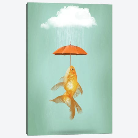 Fish Cover Canvas Print #ZEP72} by Vin Zzep Canvas Print