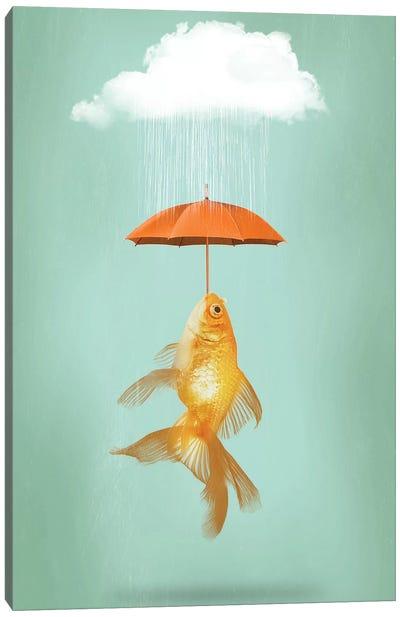 Fish Cover Canvas Art Print