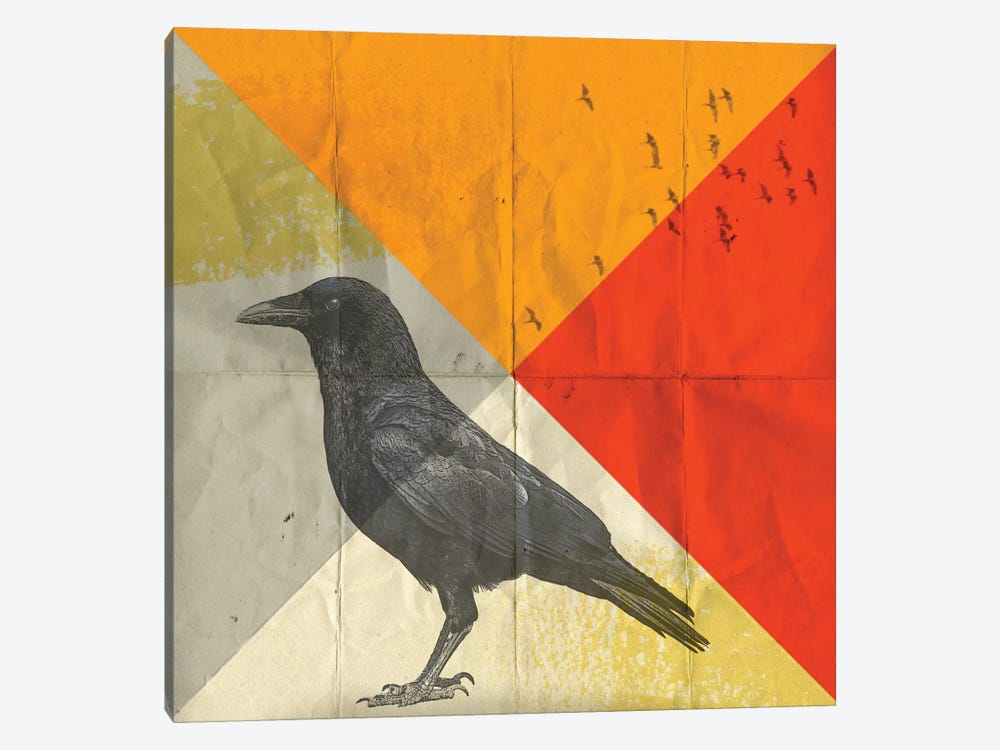 Crow Diamond I by Vin Zzep 1-piece Canvas Art Print