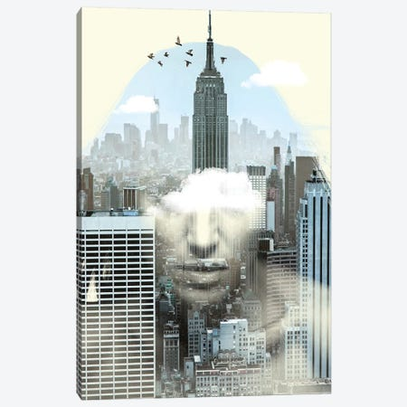 New York City Keeper Canvas Print #ZEP88} by Vin Zzep Canvas Wall Art