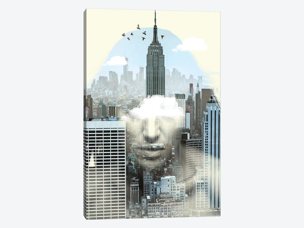 New York City Keeper by Vin Zzep 1-piece Canvas Art Print