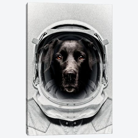 Pluto Astro Dog Canvas Print #ZEP93} by Vin Zzep Canvas Print