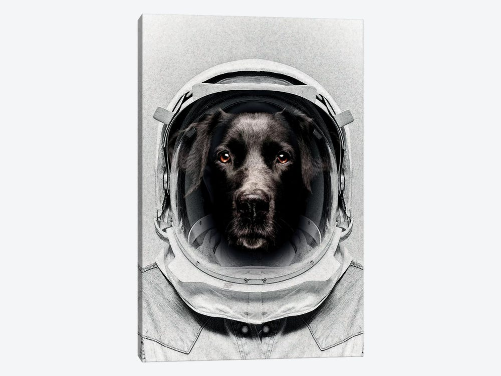 Pluto Astro Dog 1-piece Art Print