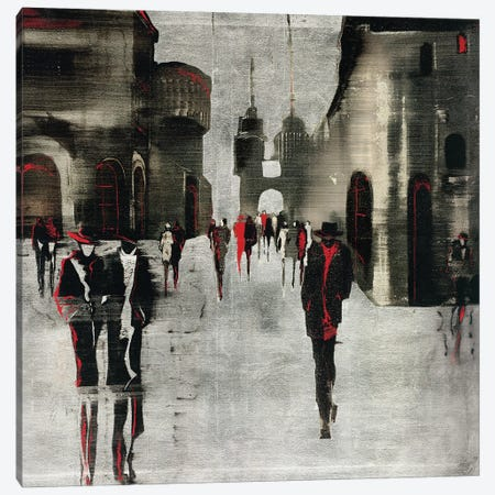 City Scene II Canvas Print #ZET2} by Elena Radzetska Canvas Wall Art