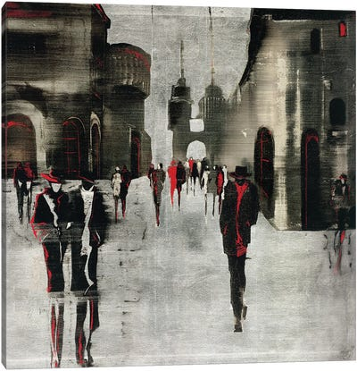 City Scene II Canvas Art Print