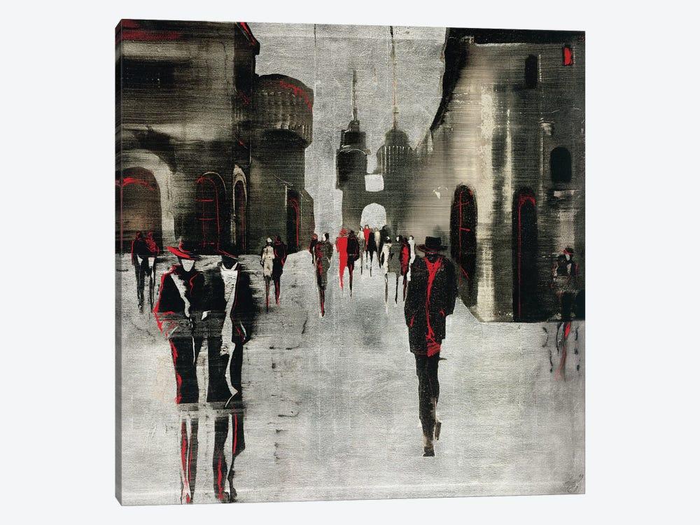City Scene II by Elena Radzetska 1-piece Canvas Artwork