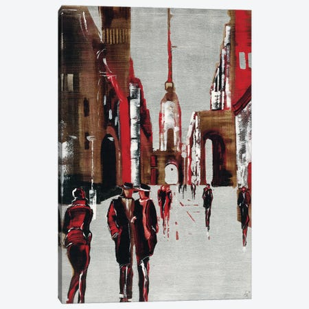 City Scene III Canvas Print #ZET3} by Elena Radzetska Canvas Artwork
