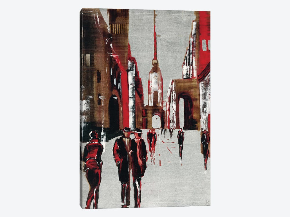 City Scene III by Elena Radzetska 1-piece Canvas Print