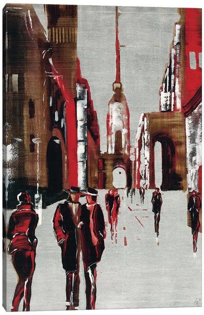 City Scene III Canvas Art Print