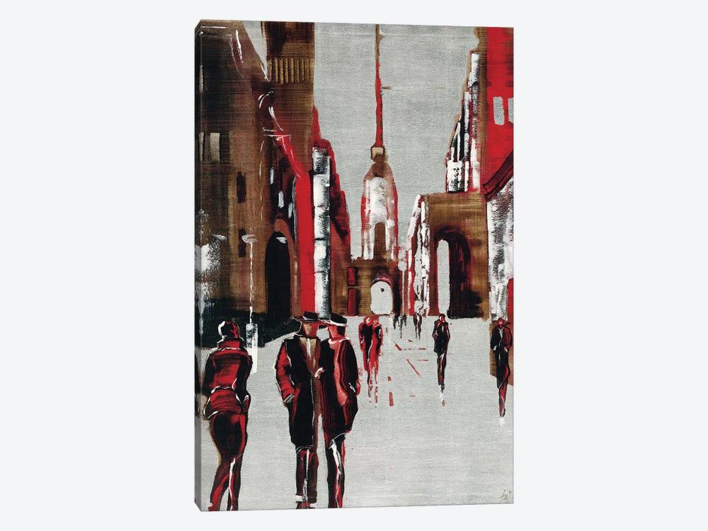 City Scene III by Elena Radzetska 1-piece Canvas Print