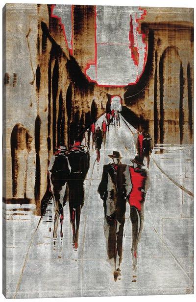 City Scene IV Canvas Art Print