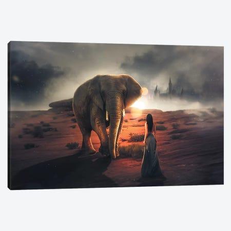 Elephant Dream Canvas Print #ZGA11} by Zenja Gammer Canvas Print