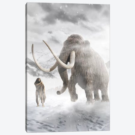 The Mammut Canvas Print #ZGA122} by Zenja Gammer Canvas Wall Art