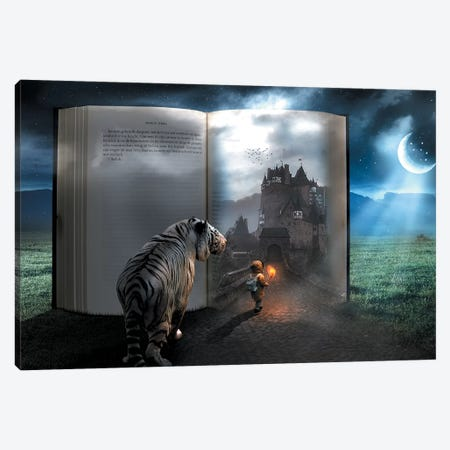 Fairy Tale Book Canvas Print #ZGA12} by Zenja Gammer Canvas Art Print
