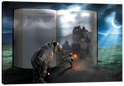 Fairy Tale Book Canvas Art Print