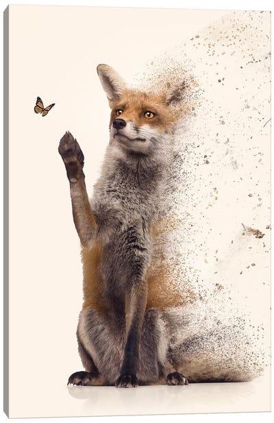 The Dispersion Fox Canvas Art Print