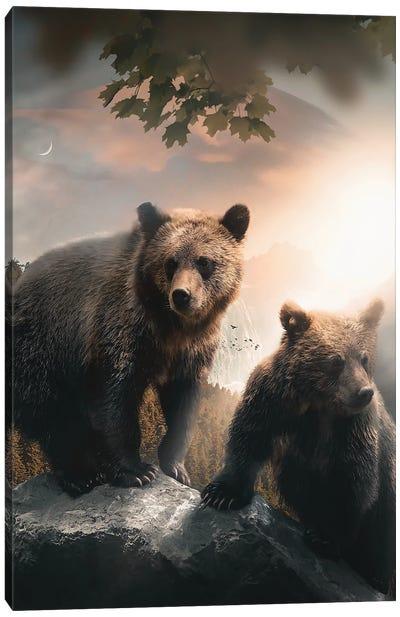 A Beartiful Day Canvas Art Print