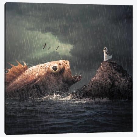 Big Fish Canvas Print #ZGA68} by Zenja Gammer Canvas Wall Art