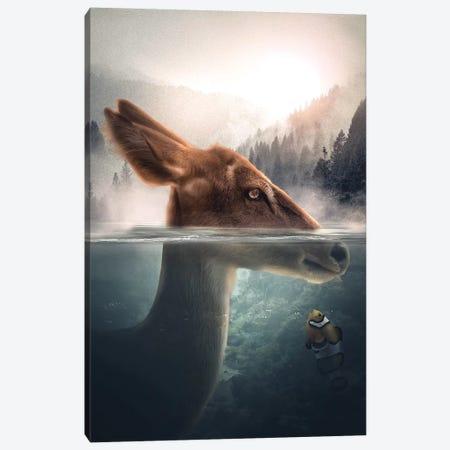 The Antelope & Clownfish Canvas Print #ZGA85} by Zenja Gammer Canvas Print