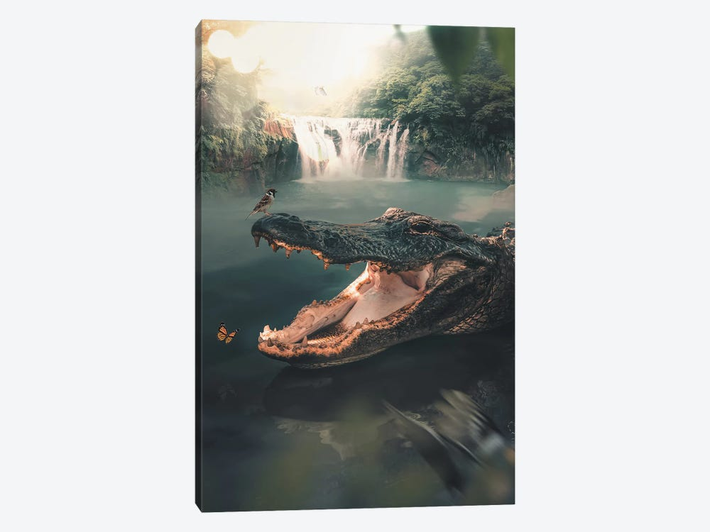 Crocodile 1-piece Art Print