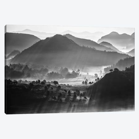 Misty Sea Of Clouds Canvas Print #ZHC2} by Zhou Chengzhou Canvas Art Print