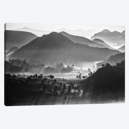 Misty Sea Of Clouds Canvas Print #ZHC2} by Zhou Chengzhou Canvas Art Print
