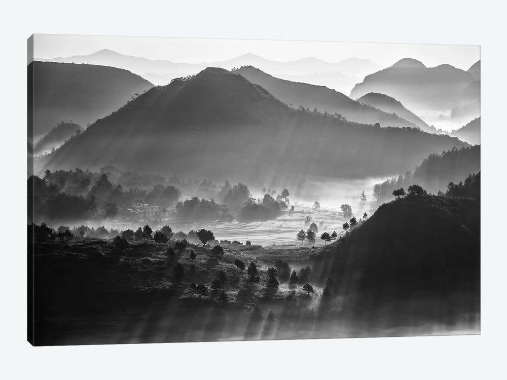 Misty Sea Of Clouds by Zhou Chengzhou 1-piece Canvas Art