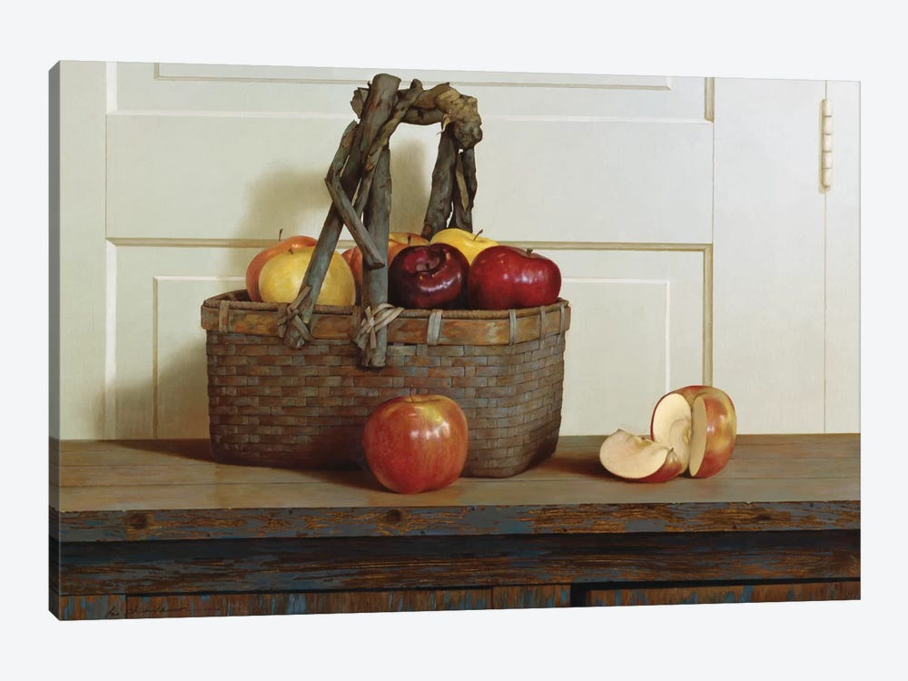 Still Life With Apples by Zhen-Huan Lu 1-piece Canvas Wall Art