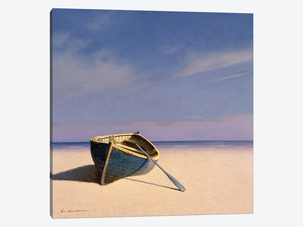 Beached Boat II by Zhen-Huan Lu 1-piece Canvas Art