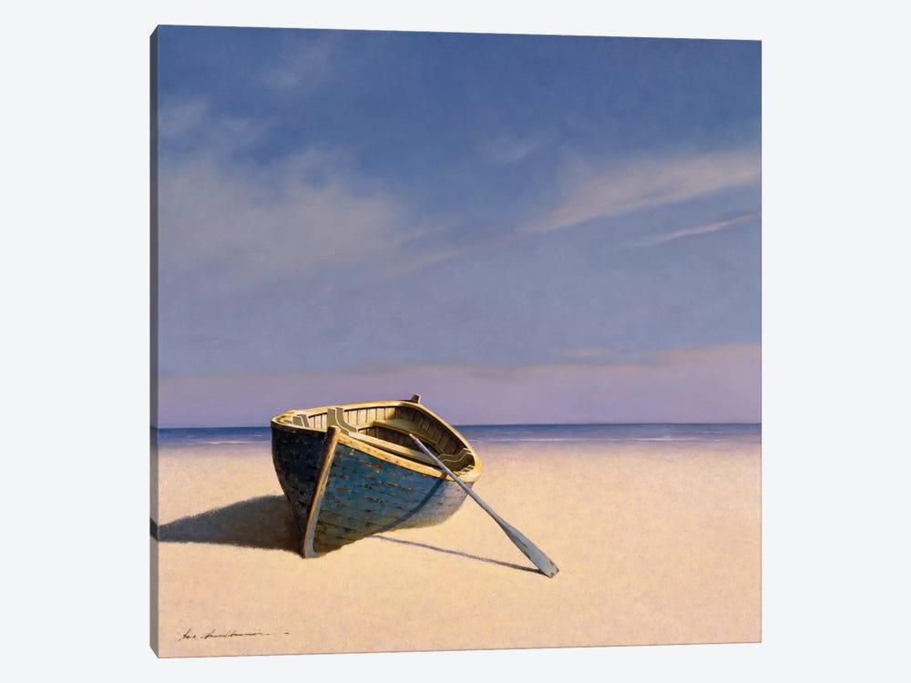 Beached Boat II by Zhen-Huan Lu 1-piece Canvas Art