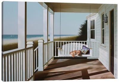 Swing Chair Canvas Art Print