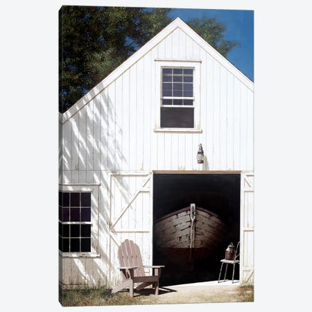 The Barn Canvas Print #ZHL114} by Zhen-Huan Lu Canvas Artwork