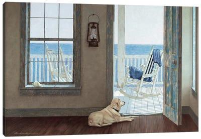The Rocking Chair Canvas Art Print