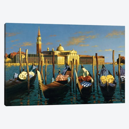 Venice Canvas Print #ZHL120} by Zhen-Huan Lu Canvas Art