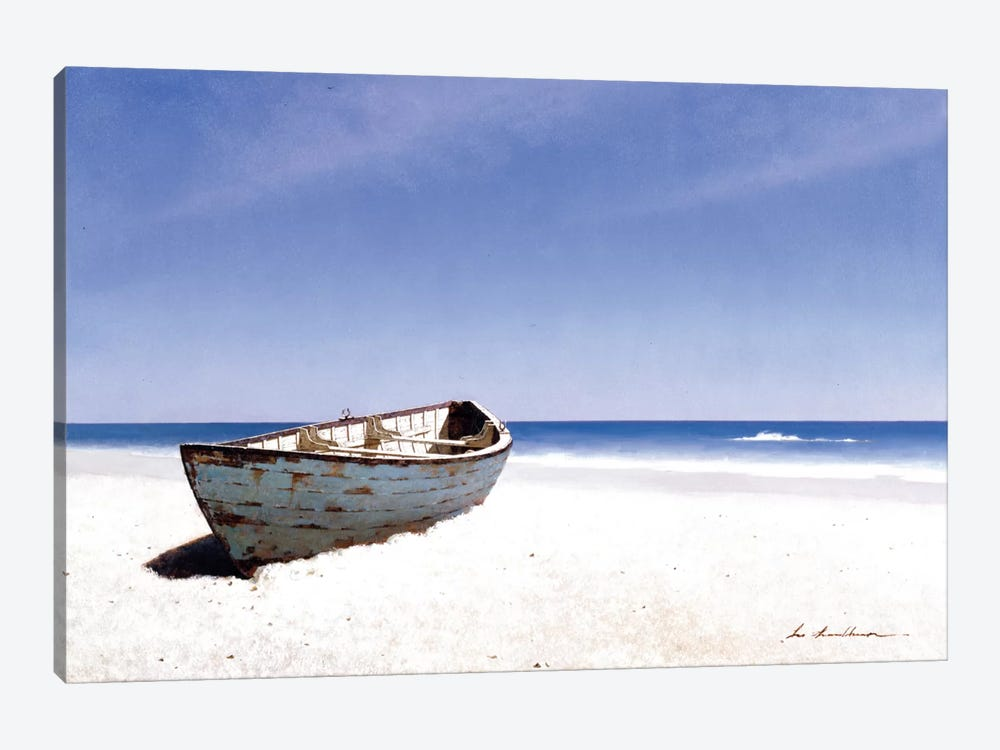 Beached Boat III 1-piece Canvas Art