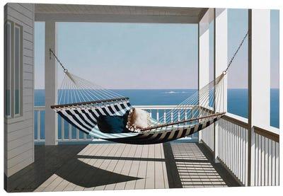 Hammock & Pillows Canvas Art Print