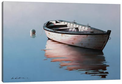 Lonely Boat I Canvas Art Print