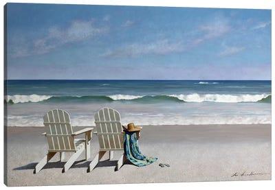 Tide Watching Canvas Art Print