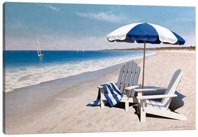 Beach Bum Canvas Art Print