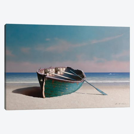 Solitaire  Canvas Print #ZHL154} by Zhen-Huan Lu Canvas Wall Art