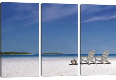 A View For Two Canvas Art Print