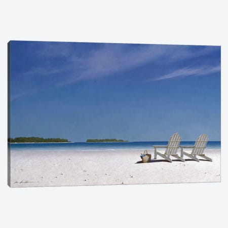 A View For Two Canvas Print #ZHL1} by Zhen-Huan Lu Canvas Wall Art